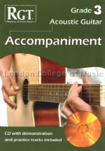 RGT Acoustic Guitar Grade 3 Accompaniment (+ CD)