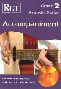 RGT Acoustic Guitar Grade 2 Accompaniment (+ CD)