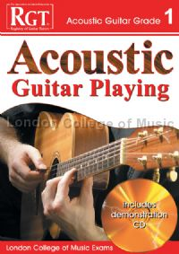 RGT Acoustic Guitar Playing Grade 1 (Book & CD)