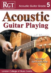 RGT Acoustic Guitar Playing Grade 5 (Book & CD)