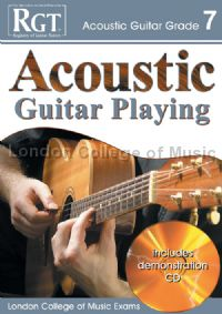 RGT Acoustic Guitar Playing Grade 7 (Book & CD)