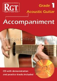 Acoustic Guitar Grade 1 Accompaniment (+ CD)