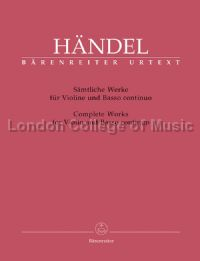 Complete Works for Violin & Basso Continuo