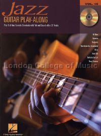 Guitar Play-Along Series vol.16: Jazz Guitar (Bk & CD)