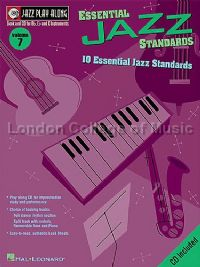 Jazz Play Along 07 Essential Jazz Standards (Jazz Play Along series) Book & CD