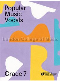 Popular Music Vocals - Grade 7 (Book + Online Audio)