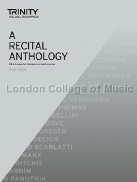 A Recital Anthology (High Voice & Piano)