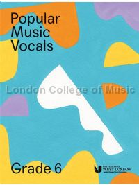 Popular Music Vocals - Grade 6 (Book + Online Audio)