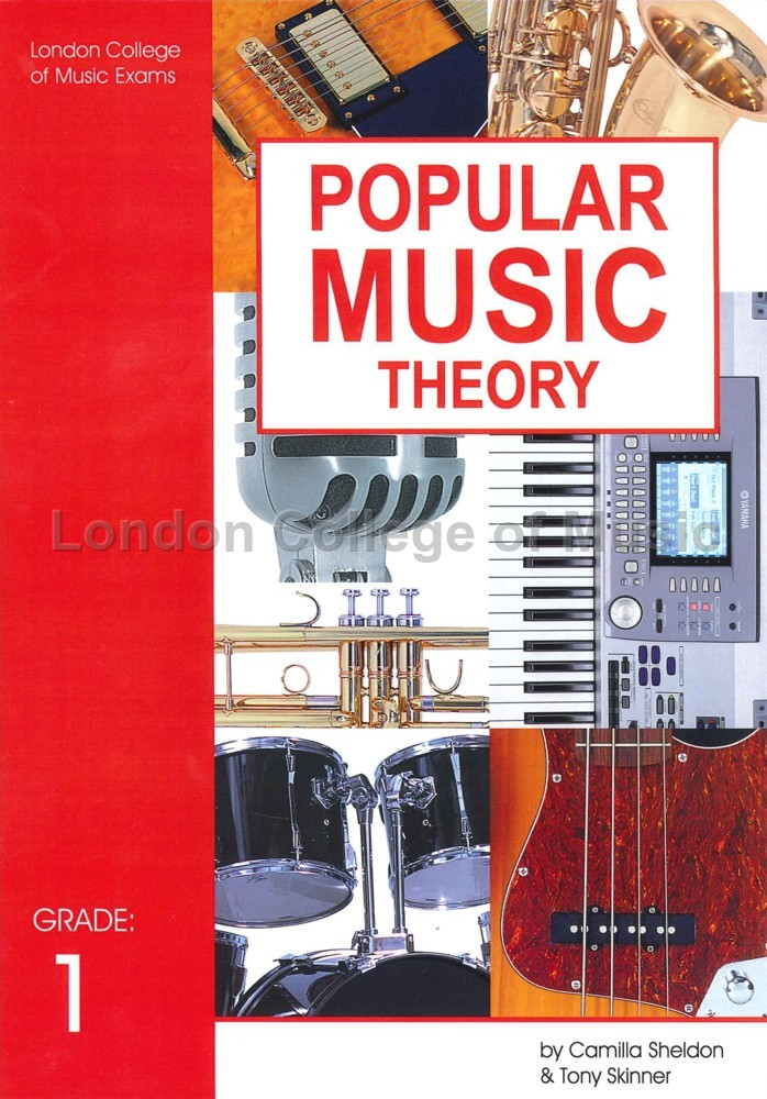 LCM/RGT Popular Music Theory Grade 1 - London College of Music (LCM)